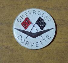 Chervrolet Corvette Cars Motors Automobilia Motorsport Plastic Badge Enthusiast
