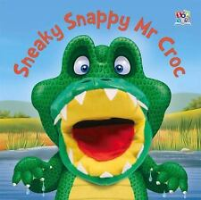 Sneaky Snappy Mr Croc Hand Puppet Books