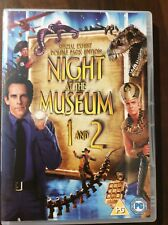 NIGHT AT THE MUSEUM 1&2 DVD  Special Exhibit Double Pack Edition