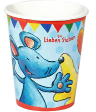 Kid's Birthday 8 Papier-Party-Becher Kid's Birthday You Love Seven 13255