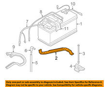 BMW OEM 07-13 328i 3.0L-L6-Battery Hold Down Clamp Bracket for Tray 61217549425