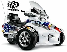 "Can Am Spyder RT RT-S RT Limited graphic wrap decal kit ""The Patriot"""