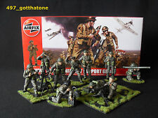 Airfix 1/32 British infantry support group WW2. professionally painted. FULL SET
