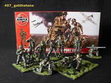 Airfix fanteria britannica 1/32 Gruppo di supporto WW2. professionalmente verniciato. Set Completo