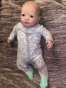 or COA. New Sold Out Coplain REBORN doll KIT by Aleina Peterson Only Vinyl Kit No Body Slip Eyes