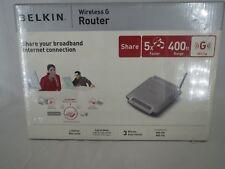 New Belkin Wireless G Router F5D7230-4 400FT Range
