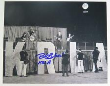 Bob Eubanks THE BEATLES AT DODGER STADIUM Signed Autograph 8x10 Photo
