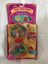 POLLY POCKET LION KING MINI COLLECTION DISNEY PLAYCASE NEW & SEALED MOC 1996
