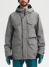 Brand New Mens 2020 Burton Covert Snowboard Jacket Bog Heather Grey
