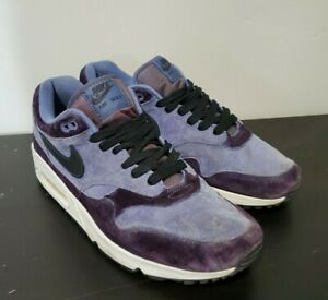 Mens Nike Air Max 1 Blue Purple Black Size 9.5