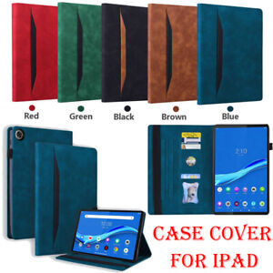 Flip PU Leather Case Cover For Lenovo Tab P11 M8 M10 HD FHD Plus 8.0 10.1 10.3