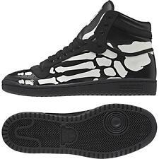 Adidas Original Top Ten Hi Skeleton Bones Black/White M18334 Men's Shoes Size10