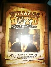 WILLIAM BOYD DOUBLE FEATURE: THREE ON A TRAIL / THE EAGLE'S BROOD DVD