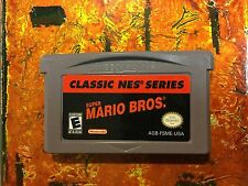Super Mario Bros Gameboy Advance GBA CLEANED Tested Working Authentic GAME BOY
