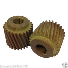 2 X Fibre Motor Pinion Gear for Crypto Peerless C28 Potato Peeler 5/8ths Shaft.