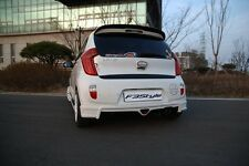 F3Style Rear Tuning Unpainted Parts For KIA Picanto 2011-2015