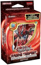 YuGiOh! Raging Tempest Special Edition Mini Booster Box! 3 Sealed Packs! + BONUS