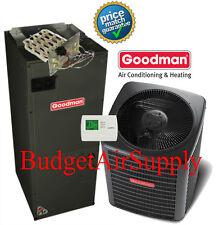 3 Ton 13 seer 410a Goodman  A/C System GSX130361+ARUF37C14+Heat Strip+TStat+++