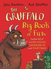 THE GRUFFALO BIG BOOK OF FUN - GAMES PUZZLES COLOURING ACTIVITY DONALDSON AS NEW