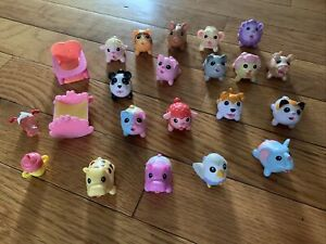 Lot Of 18 Chubby Puppies & Friends Mini Baby Animal Lot