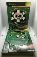 World Series of Poker - With Slipcase - Complete - Tested & Works -Original Xbox