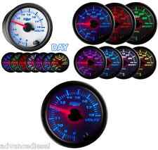 GlowShift White 7 Color Voltage Gauge GS-W705