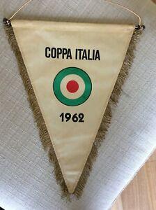 GAGLIARDETTO UFFICIALE CALCIO NAPOLI 1962 VITTORIA IN COPPA ITALIA