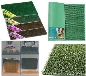 Plastic/Rubber Artificial Astro Turf Door Mat Entrance Condor Scraper Door Mat