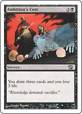 4 Ambition's Cost ~ Near Mint 8th Edition Eighth 4x x4 Playset UltimateMTG Magic