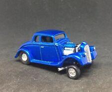 1933 Willys Coupe Gasser Drag Car Custom Built 1/64 Diecast Scale Race