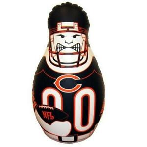 Chicago Bears NFL Inflatable Tackle Buddy Punching Bop Bag Free Shipping