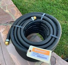 """All Weather Rubber Water Hose 3/4""""x75' Continental Formerly Goodyear Made  USA"""