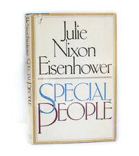 Julie Nixen Eisenhower 'Special People' Simon & Shuster 1st Ed Signed DJ 1977