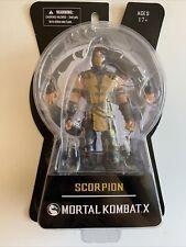 "Mezco Toys Mortal Kombat X 6"" Scorpion Action Figure New In Package"
