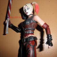 DC UNIVERSE arkham city HARLEY QUINN figure Joker Girlfriend FEMALE toy Batman