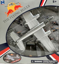 "Aereo B-25J ""MITCHELL"" THE FLYING BULLS Red Bull 1:48 Model 21263 NEW RAY"