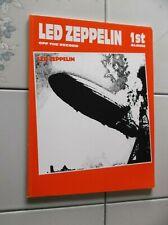 Led Zeppelin I Guitar Bass Tab Rock Music Song Book New Warner 1st Album Drums