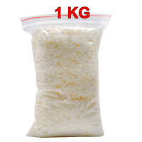 Wax Soy 1kg Soya Flakes 100 Pure clean Burning  Candle Making 5kg No Soot UKED