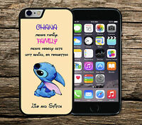 Disney Lilo and Stitch Ohana Means Family Quote Case/Cover iPhone Samsung Range