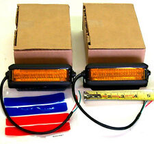 Sound Off Signal N-FORCE AMBER LED Beacon (set of 2)