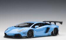 Autoart 79107 - 1/18 Liberty Walk LB-Works Lamborghini Aventador - Sky Blue