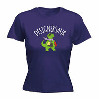 Designersaur T-Rex Shopping WOMENS T-SHIRT T-Rex dinosaur funny mothers day gift