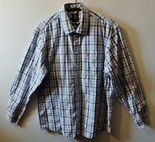 "CREW CLOTHING check shirt UK XL US L  48"" 122 cm"