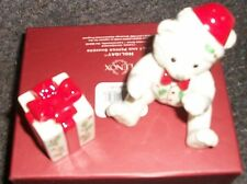 Christmas Gift-Lenox S&P Set1 -Boxed-not dated- Retails For $68.00
