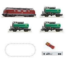 ROCO 51290 Set de iniciación digital z21+Ratón multi BR 220 3 Vagón cisterna DB