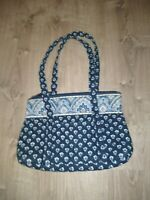 Nantucket Navy By Vera Bradley Shoulder Bag, Lovely Used Condition