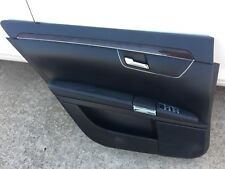 Mercedes S550 w221 Left Rear Door Panel Trim Cover Black Driver Rear(2007-2013)