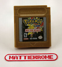 Nintendo Game Boy - Pokemon Gold - Not For Resale Demo, GB NFR USA - SHIPS FREE!