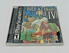 Breath of Fire IV 4 (Sony PlayStation 1, 2000) Complete