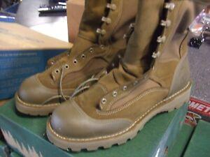 DANNER USMC RAT MILITARY/WORK BOOTS/TAN - SIZE 8.5 xtra wide nib